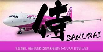 樂桃航空新式飛機曝光!座椅改成榻榻米、機上可足浴?
