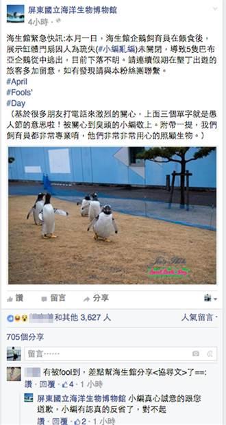 海生館企鵝暴走 上演大逃亡?