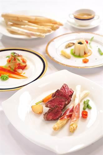 Bon Amis Steak Room「頂級夢幻法饗宴」 跟著白蘆筍來場微旅行