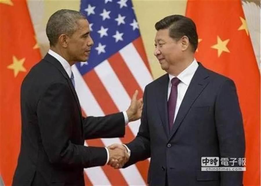 歐習會再登場!(圖為過往美國總統歐巴馬與大陸國家主席習近平會面,美聯社資料照)