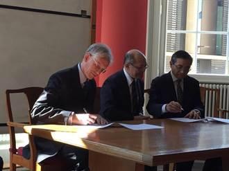 推動與世界百大合作 我與牛津大學簽署獎學金契約