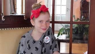 採訪兇殺案被網友狠嗆 9歲女童拍攝影片霸氣回擊