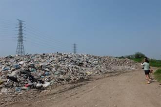 垃圾山每天「長大」 虎尾鎮再爆垃圾危機