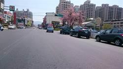 中市大坑東山路自環中東路至和祥街口路平 完工