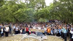 農曆3月3日古清明 江氏宗親500人循古例掃墓