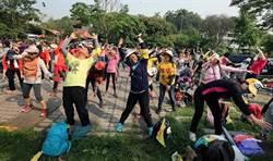 徒步環台俱樂部尖石行 200親子宣揚減碳