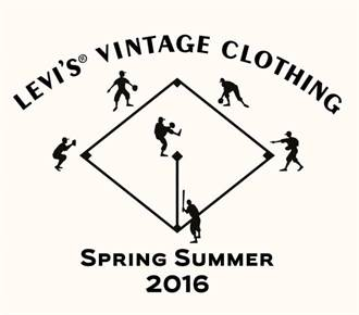 2016 LEVI'S® Vintage Clothing春夏復古系列向Elesco球隊和經典的全壘打精神致敬