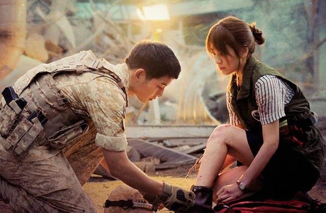 明天是韓國國會選舉,但《太陽的後裔》正常播出。(圖/翻攝KBS官網)