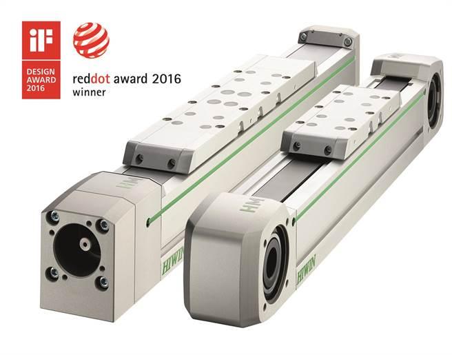 上銀科技單軸機器人模組一舉獲德國iF、Red Dot雙項國際設計大獎。(上銀科技提供)