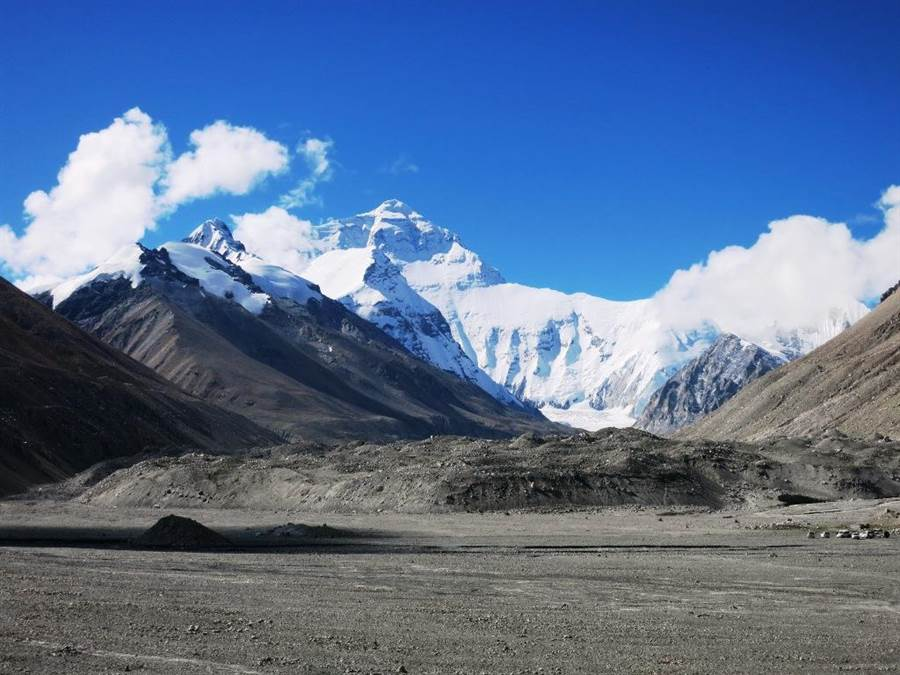 珠峰大本營。(圖/時報旅遊提供)
