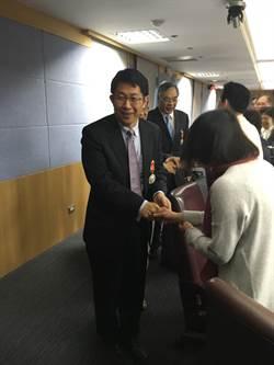 淡出1年 前教育部長蔣偉寧今現身教育部