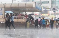 全台濕漉漉 台南、嘉義縣市發布豪雨特報