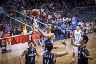 世青男籃賽分組定案 中華跟美國同組