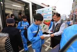中市579幹線公車學生客滿 首班發車將提早