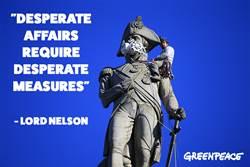 綠色和平激進份子 攻陷17座倫敦地標