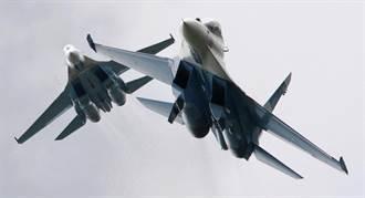 不爽進後院 俄Su-27逼退美偵察機