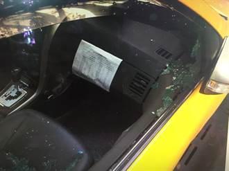 計程車怪盜抓到了!原因又是缺錢買毒