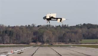 X飛機進行小尺寸驗證測試