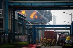江蘇一化工倉儲大爆炸