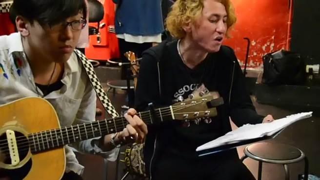 台日中韓樂團攜手創作為日本熊本祈福。(圖/台中市府提供)