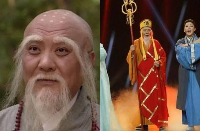 乾德門飾演的「法海」同樣被認為是無法超越的經典,但境遇發展卻不若他人光鮮。(圖/取材自微博)