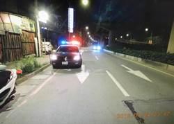 倒車撞警車逃逸 警循線追緝