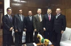 俞大?會見巴拉圭眾議員及地方官員