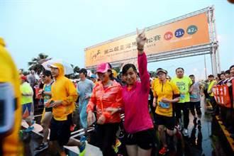 繞著高鐵跑  台灣馬拉松熱鬧登場