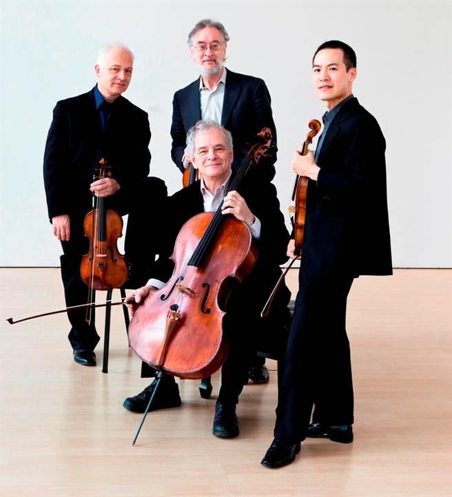 美國茱莉亞弦樂四重奏結構清晰,美聲悠揚,被譽為美國「室內樂第一家庭」。(誠品表演廳提供)
