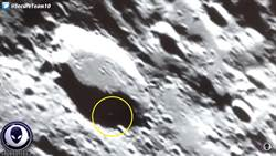 詭異物體慢速移動!月球隕石坑現「外星人蹤跡」