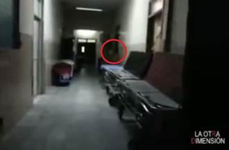 擔心病人不願離去…「鬼醫生」徘徊走廊畫面詭異