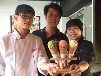 支持小農 冰淇淋業者用產品愛台灣