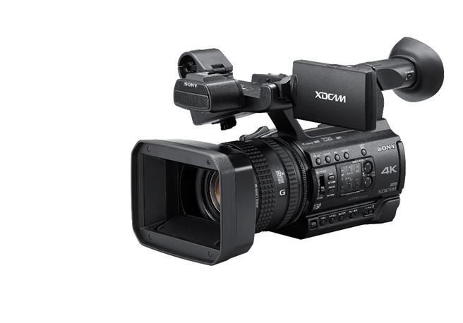PXW-Z150搭載1.0吋堆疊式Exmor RS CMOS感光元件,能記錄卓越的廣播級4K畫質及捕捉5倍慢動作的Full HD影像。(Sony提供)