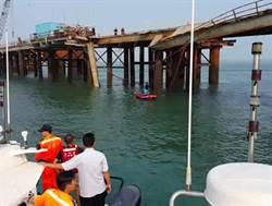 金門大橋施工再傳意外 人車落海