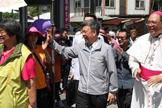 怡峰園療養院動土 準副總統陳建仁幫募款