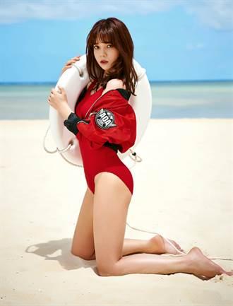 AOA海上救援Look 红色泳衣火辣回归