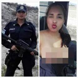 執勤拍露胸照惹議 墨女警改行脫衣舞孃爆紅