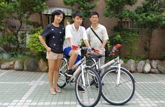 15歲王冠旻孝行感人 竹市長贈單車鼓勵