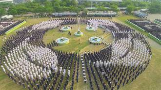 台中慈濟醫院浴佛大典 7千人為台灣祈福
