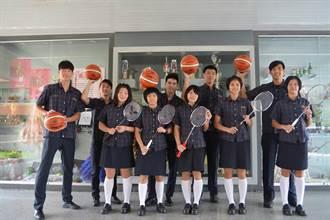 東泰高中10運動健將 都上國立大學