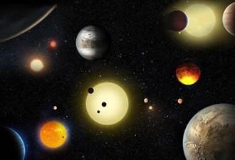 NASA再發現千顆系外行星 其中9顆似地球
