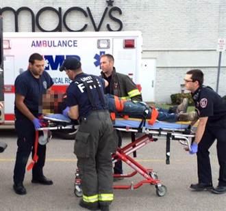 美商場連續砍人致2死 兇嫌當場被擊斃