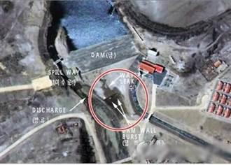 金正恩炫耀水電站70天竣工 結果10天就漏水
