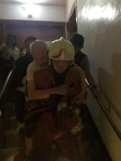 怡和醫院跳電起火 14重症病患急轉診