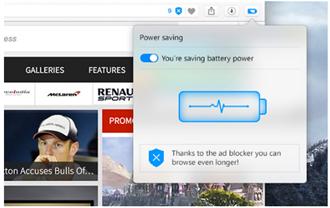 Opera電腦瀏覽器開發者版本 新推出省電模式