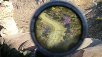 狙擊手殺敵百發百中 揭秘瞄準鏡的畫面長這樣