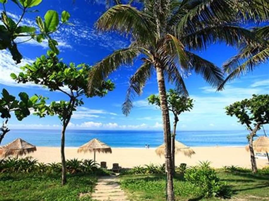 墾丁夏都沙灘酒店渡假美景一隅。(圖/墾丁夏都沙灘酒店提供)