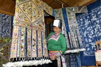 苗寨刺繡華麗登場 傳統手藝現代行銷