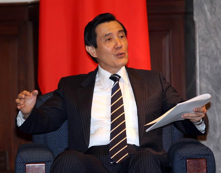 總統馬英九僅剩大巨蛋、財產來源不明2案,將等馬卸任後再分案偵辦。(圖/中央社)