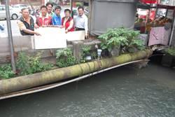 彰化三民橋設分水道 大雨來不怕淹